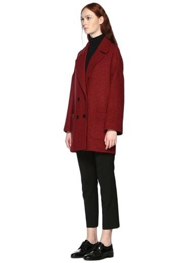Uzun Ekose Ceket-Red Valentino
